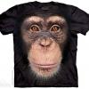 เสื้อยืด3Dสุดแนว(CHIMP FACE T-SHIRT)