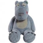 ตุ๊กตาหมีแบคค่อม สีเทา ขนาด 1.2 เมตร