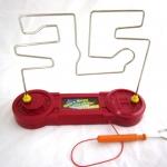 เกมขดลวดไฟฟ้าทดสอบสมาธิ(แบบขดลวด 3 อัน)