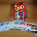 UNO อูโน่เกมต่อสีและอักษร(ไซส์ปกติ)