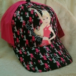 หมวกแก๊ปลายการ์ตูน Barbie 7