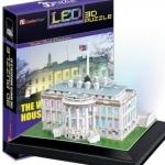 จิ๊กซอ 3 มิติ ทำเนียบขาวแบบเปล่งแสง(The White House LED )
