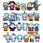 [Preorder] เซ็ทโมเดลโดราเอม่อน 24 ตัว 24 แบบ เก๋ๆ Limit spike Doraemon Doraemon cat duo a dream 24 paragraph full movie style doll ornaments hand to do