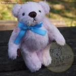ตุ๊กตาหมีผ้าขนสีชมพูขนาด 12 cm. - Bess