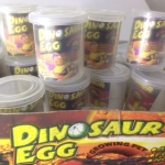 ไข่ไดโนเสาร์แช่น้ำ(ขนาดกลาง)