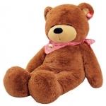 ตุ๊กตาหมีหลับ ตัวใหญ่ ขนาด 1.2 เมตร สีน้ำตาลเข้ม