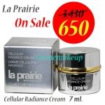 ลดเกิน 80%(ราคานี้มีจำกัด) La Prairie Cellular Radiance Cream 7ml (ขนาดทดลอง) การฟื้นฟูอย่างรวดเร็ว ไม่เพียงแต่ลดเลือนริ้วรอยในทุกระดับบนผิวหน้า ยังช่วยให้ผิวสวยกระจ่างใส เพียง 1 สัปดาห์