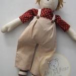 ตุ๊กตาผ้าเด็กผู้ชายคันทรี่สูง 34 cm. - country doll ( boy )