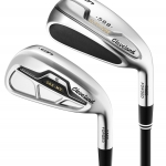 NEW CLEVELAND 588 COMBO IRON SET #4 - PW GRAPHITE FLEX R