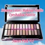 Sivanna Colors Makeup Studio Eyeshadow Palette 24 สี #03 Sweet Pink พาเลทแต่งตาสุดน่าร๊าก แพคเกจกล่องเหล็กแข็งแรง ลายดอกไม้วินเทจ ดูเจ้าหญิงฟรุ้งฟริ้งสุดๆ