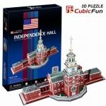 จิ๊กซอ 3 มิติ หอแห่งอิสรภาพ(Independence Hall)