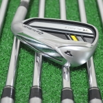 TAYLORMADE ROCKETBLADEZ IRONS 4-PW (7PC) ROCKETFUEL 85 STEEL FLEX R +1""