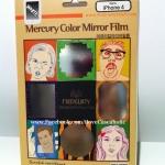 ฟิล์มกระจก ขอบสีมิ้น ยี่ห้อ Mercury (iphone4/4s)