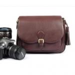 กระเป๋ากล้อง แบบหวาน สีน้ำตาลB216