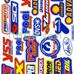 สติ๊กเกอร์คละแบบ Racing 013