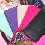 (preorder มกราคม 58) New Color Charles&Keith zip purse