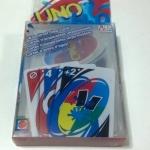UNO อูโน่เกมต่อสีและอักษรแบบพลาสติก