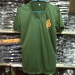 เสื้อยืด ร.ด. คอวี สกรีนอกซ้าย (สั่งซื้อ12ตัว เหลือตัวละ 80บาท)