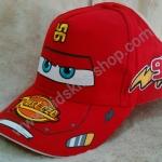 หมวกแก๊ป ลายการ์ตูน Cars 8