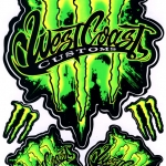 สติ๊กเกอร์ Monster 18