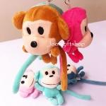 พวงกุญแจตุ๊กตาลิง โหลละ 280 บาท (12 ชิ้น)