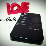 เคสแบบเงา ลายน้ำ สีดำ จาก Kiss Case