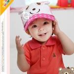 Size M -2-5 ขวบ หมวกเด็กเกาหลี สีสันสดใส สำหรับขนาดศีรษะ 50-52 cm. ประมาณ 2-5 ขวบ