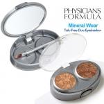 ❤❤ พร้อมส่งค่ะ ❤❤  PHYSICIANS FORMULA - Mineral Wear Talc-Free Mineral Eye Shadow Duo 0.12oz/ 3.4g