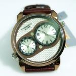 นาฬิกาข้อมือ EYKI OVERFLY ซีรี 2 หน้าปัดสีสายน้ำตาล