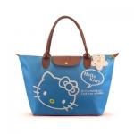 [Preorder] กระเป๋าถือแฟชั่น Hello Kitty สีฟ้า Zhendian treasure waterproof bag swimming bag Hello Kitty cartoon fashion handbags shoulder bag shopping bag