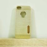 case iphone 5/5s/SE เคสยางMotomo สีทอง