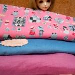 JULY59.Pack2 : ผ้าจัดเซตผ้า คอตตอตหาในไทย 27x50 cm+ ผ้าลูกฟูกในไทย 2 ชิ้น 27x50 cmรวมเป็น3ชิ้นค่ะ