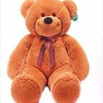 ตุ๊กตาหมียิ้มผูกเน๊คไท Teddy 1.2 เมตร สีน้ำตาลเข้ม