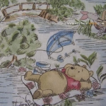 Winnie The Pooh Dat In The Park Antique