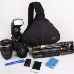กระเป๋ากล้องหยดน้ำ สีดำ