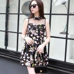 พร้อมส่ง CODE 410 LOVEABLE BLOSSOM GAUZE DRESS