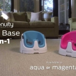 จัดส่งฟรี : เก้าอี้หัดนั่ง + เก้าอี้ทานข้าว Ingenuity Baby Base 2 in 1