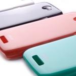 ++ ราคาพิเศษ 300 เท่านั้น ++  เคส HTC One S/Ville  Rock Color-ful (Hard Case) + Film ผิวเคลือบมันอย่างดีไม่เป็นลอยง่าย