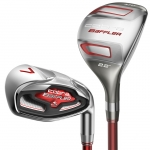NEW COBRA BAFFLER COMBO IRON SET 4H-GW ALL GRAPHITE FLEX R
