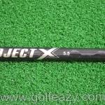 "NEW PROJECT X 5.5 BLACK SHAFT UNCUT 46"" FLEX SR"