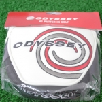 (New) Odyssey Tempest Magnetic Heel Shaft Mallet Putter Headcover