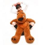 ตุ๊กตาหมีแบคค่อม สีน้ำตาลเข้ม ขนาด 1.2 เมตร