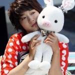 ตุ๊กตาหมูกระต่าย สินค้ายอดฮิตจากซีรี่ย์เกาหลีเรื่องดัง u're beautiful ขนาด 55 CM