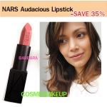 ลด35% เครื่องสำอาง NARS Audacious Lipstick สี BARBARA ลิปนาร์สสูตรใหม่ limted SEMI - MATTE ให้ผลลัพธ์ที่แบบเรียบ-ติดทน-บำรุง-อวบอิ่ม
