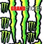 สติ๊กเกอร์ Monster 4