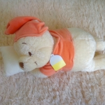 พร้อมส่งค่ะ ตุ๊กตาหมีpooh นอนกอดหมอน by Tokyo Disney ขนนุ่มมากๆจ้ะ