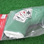 (New) Odyssey Las Vegas 4 Aces Magnetic Blade Boot Green Putter Headcover