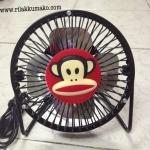 พัดลมตั้งโต๊ะ พอลแฟรงค์ Paul Frank USB Fan