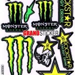สติ๊กเกอร์ Monster 17