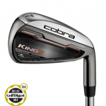 NEW 2016 COBRA KING F6 #4-PW IRON SET MATRIX OZIK GRAPHITE FLEX R